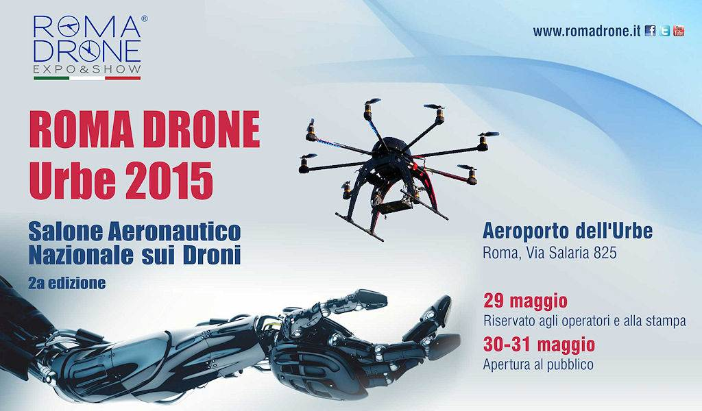 SAT a Roma Drone Conference 2015